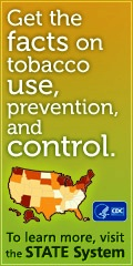 Get the facts on tobacco use, prevention, and control.