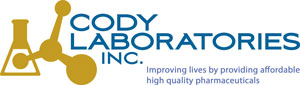 Cody Laboratories: Improving lives by providing affordable high quality pharmaceuticals.