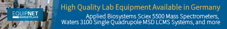 EquipNet Auction: High Quality Lab Equipment from Leading Biotech Facility in Germany